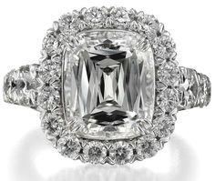 Stunning. #wedding #ring #engagement #silver