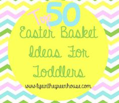 Toddler Easter Basket Ideas