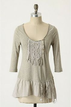 Going to attempt to make something like this. It's cute and would be fun to wear in the fall.