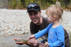 journey sees her first Montana brook trout. | Fly dreamers