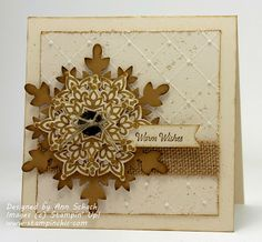 The Stampin' Schach: Stamp Review Crew: Festive Flurry Edition