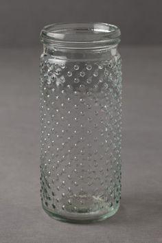 Hobnail Glass Jars