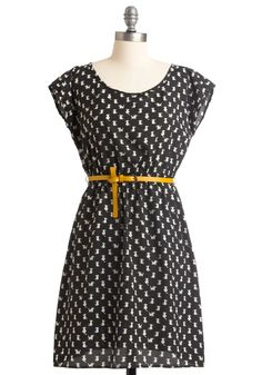 NEED. Feline and Dandy Dress from ModCloth. $52.99
