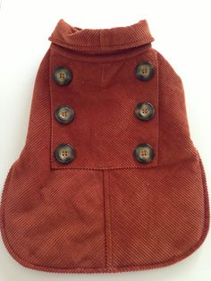 Woolrich Corduroy Dog Coat by LaDolfina on Etsy, $12.00