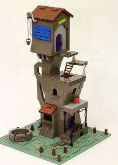 The Lorax house Lego set