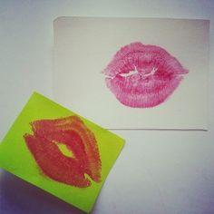 A dónde van los #besos que no damos – #Manualidad #romántica
