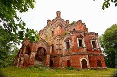 like this post. like abandonded old buildings, in Russia. surreal