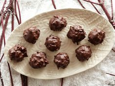 Chocolate Coconut Balls from FoodNetwork.com