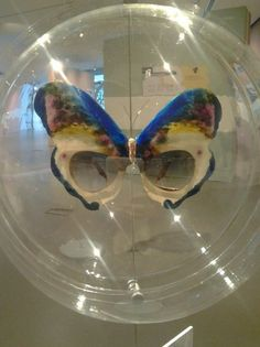 1985 Known the world over the Butterfly sunglasses by Oliver Goldsmith