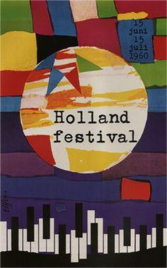 Dick Elffers, Holland Festival, 1960