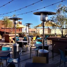 Here's a list of some of the best places to enjoy a meal on a restaurant patio in #Oklahoma.