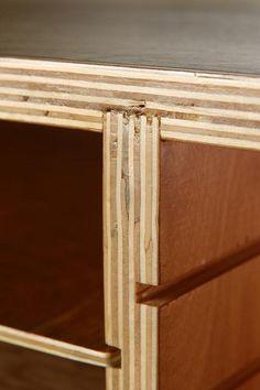 plywood shelfs