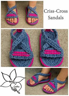MNE Crafts: Criss-Cross Sandals
