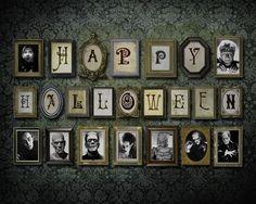 Vintage Halloween decor