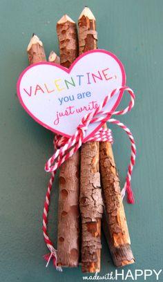 Twig Pencil Valentin