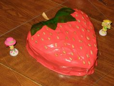Deb's Birthday Cake Ideas for Kids Photo Gallery: Strawberry Shortcake Character Cake