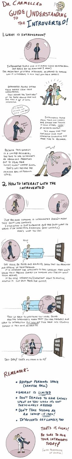 A Guide to Understanding Introverts<3