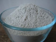 Peppermint Herbal Clay Tooth Powder...use for exceptional oral health and the re-mineralization of your teeth.