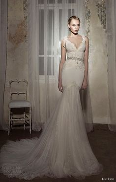 Lolitass Mermaid Wedding Dress from Lihi Hod SS 2014 Bridal Collection