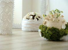 Matrimonio Eco centrotavola Green Wedding  centerpiece allestimenti e foto Alessandra Fabre Repetto