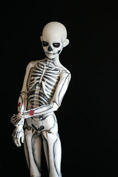 """Skeleton Boy"" by Kittytoes, via Flickr"