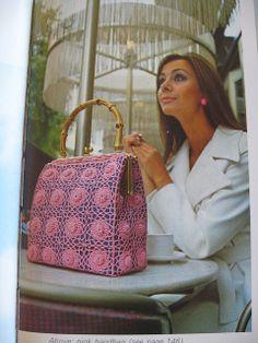 vintage #crochet bag WOWWWWW!!!