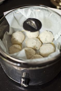 Herb Crock-Pot Dinner Rolls – Summer Baking | Artisan Bread in Five Minutes a Day