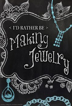 I'd Rather Be Making Jewelry - share your passion for crafting! Click this image to enter and share your favorite craft. You could win a KitchenAid Stand Mixer, 100 dollar Amazon card & more from #Craftsy