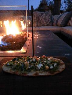 Cipollini and Artichoke Flatbread | In Mama Maggie's Kitchen