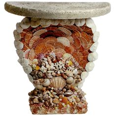SHELL GROTTO TABLE