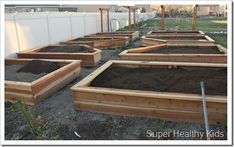 Tutorial for making raised garden beds