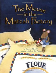 Journey with a curious little mouse as he travels from a wheat field in the country to a big city factory where harvested wheat is baked into matzah.