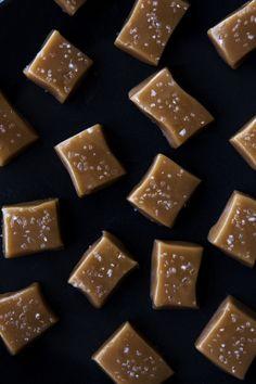 Sea salt caramels.