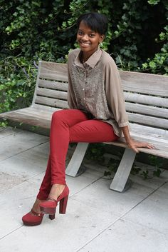 Nordstrom Rack Fall Challenge: Game Day Glam #nordstromrack