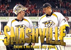 Smashville: There's No Place Like Home  #mysmashville #preds Nashville Predators