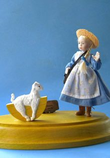 """Mary had a Little Lamb"" - Paperclay - Jane Davies."