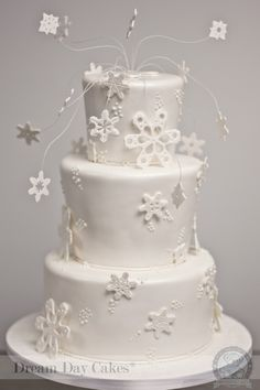 Image detail for -Winter Wonderland Cake in Gainesville, FL | Dream Day Cakes