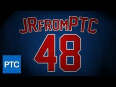 Create a baseball jersey text style from scratch.  In case you're wondering the name on the Jersey is actually my Twitter screen name! If you have a twitter account, you can follow me @JRfromPTC!   http://photoshoptrainingchannel.com