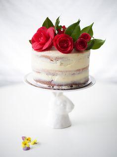 DIY Rose Cake for Easter
