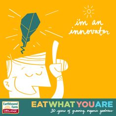 I am the Innovator! Find your salad sign at: ebfarm.com/salad-sign Enter to Win by taking this short and Easy Quiz!