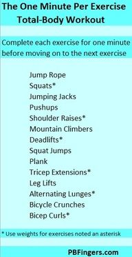 total body workout at home
