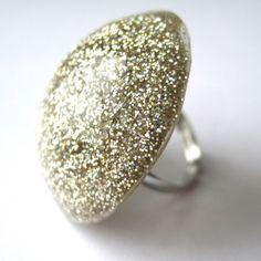 glitter ring @ popko.etsy, $8