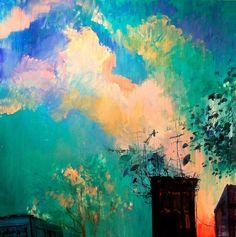 """Deborah Brown, """"Bushwick Sunset #1"""