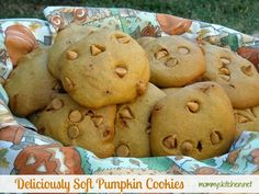 Mommy's Kitchen - Country Cooking & Family Friendly Recipes: Deliciously Soft Pumpkin Cookies (Yes another Pumpkin Recipe)