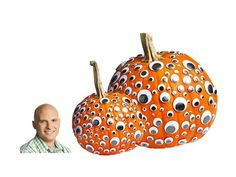 Trick out your pumpkin with googly eyes #Halloween #pumpkins #hgtvmagazine http://www.hgtv.com/holidays-and-entertaining/8-fun-new-ways-to-decorate-a-pumpkin/pictures/page-9.html?soc=pinterest