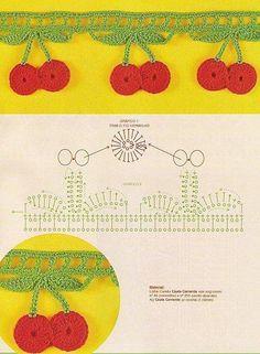 Cherrie crochet border