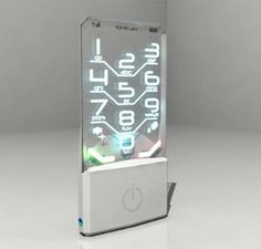 See the Future Through the Transparent Nokia Concept Phone #design trendhunter.com
