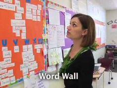 Precision Teaching - tour classroom for anchor charts, success criteria