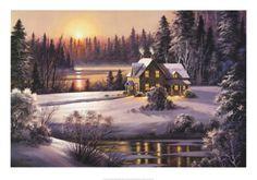 Winter Sunset from Art.Com