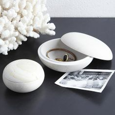 Our Stone Pebble Boxes are great for stowing everything from jewelry in the bedroom to keys in the kitchen. Made of stone, they add a hint of nature to dressers, counters and desks.